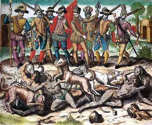 columbus and cortes encounters native and meso americans essay