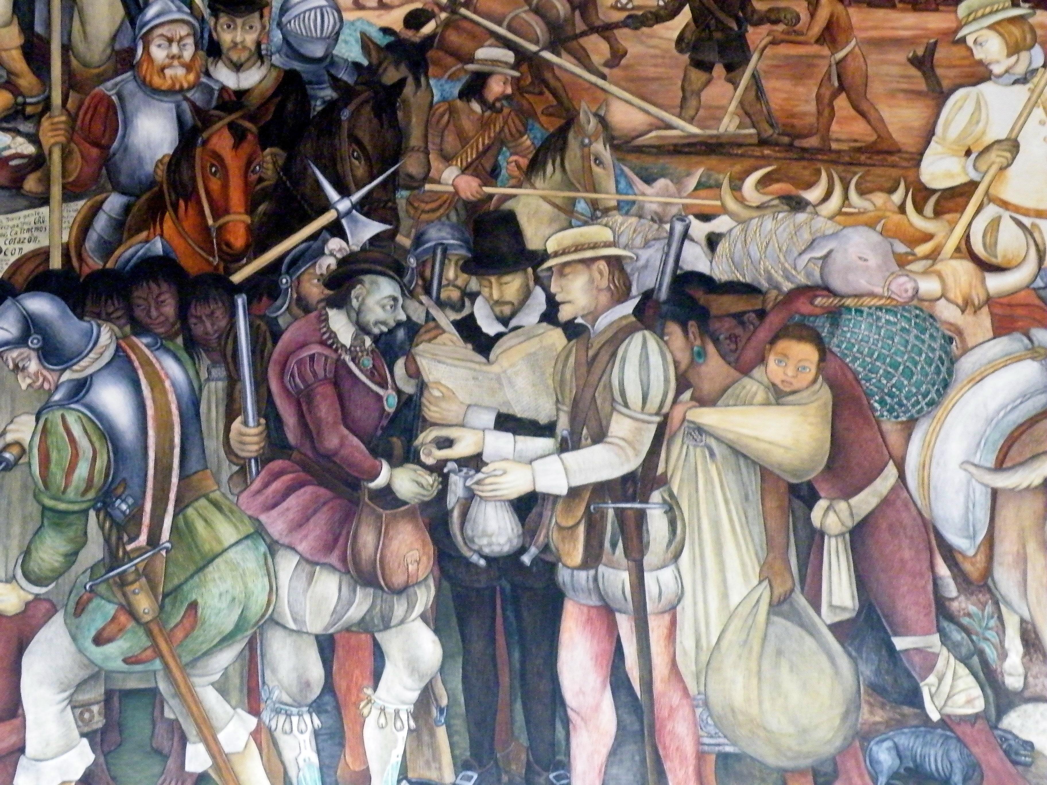 Pics for diego rivera mural palacio nacional for Diego riveras mural