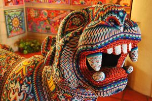 Exhibition: Huichol Art at Barber Learning Centre