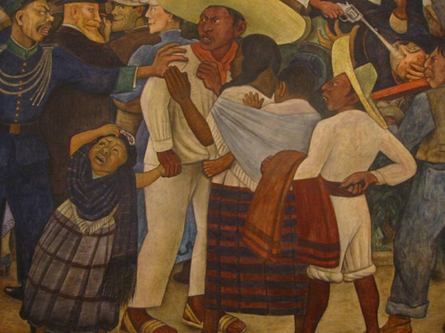 Diego rivera mural for Diego riveras mural