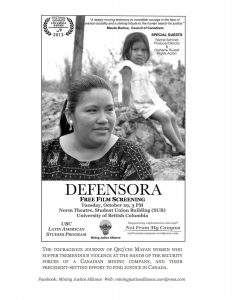 Screening: Defensora