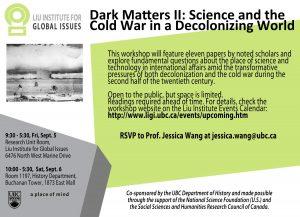 Workshop: Dark Matters II