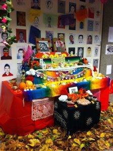 Day of the Dead Altar in Buchanan Tower