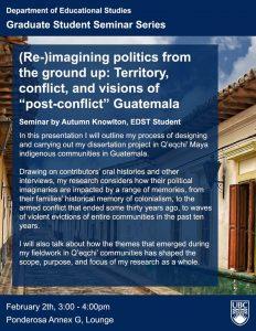 Autumn Knowlton: (Re-)Imagining Politics