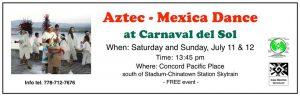 Performance: Aztec-Mexica Dance