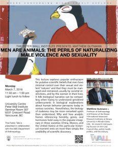 Gutmann: Men are Animals