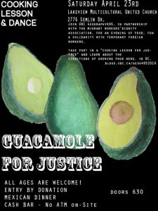 Event: Guacamole for Justice