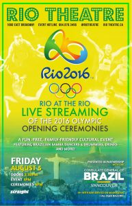 Screening: Rio at the Rio