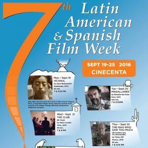 Victoria: 7th Annual Latin American Film Week