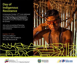 Event: Day of Indigenous Resistance