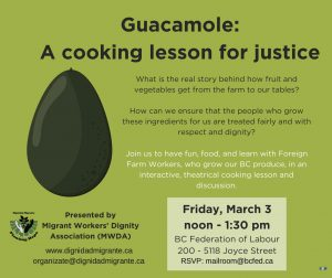 Event: Cooking for Justice
