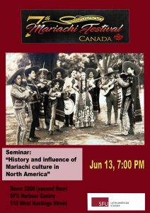 Seminar: History and Influence of Mariachi Culture