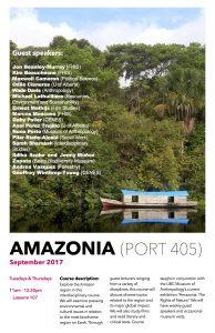 New Course: Amazonia