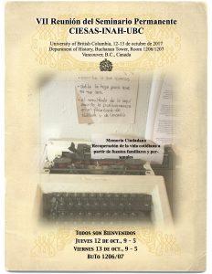 Conference: Memoria Ciudadana