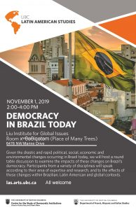 Democracy in Brazil Today: Round Table