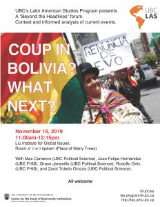 Coup in Bolivia? What Next?