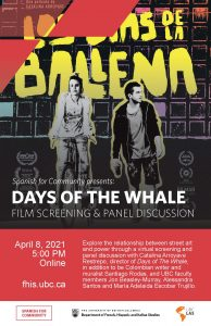 Days of the Whale: Film Screening & Panel Discussion